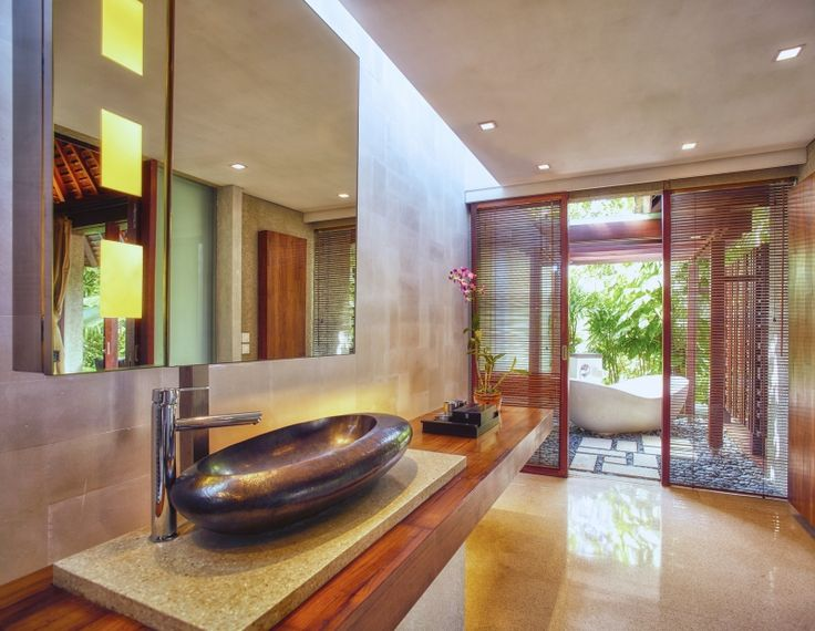 The Bathroom. Where modern design meets traditional craftsmanship.