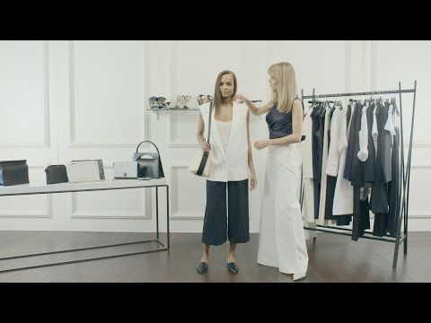 How to Style SS15's Minimalism Trend | NET-A-PORTER.COM - YouTube