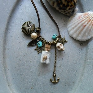 Necklace Life is a Beach http://indica-jewelry.com/necklaces/necklace-life-is-a-beach