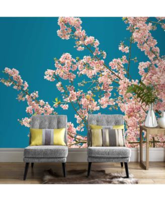 17 best ideas about cherry blossom wallpaper on pinterest for Cherry blossom wallpaper mural