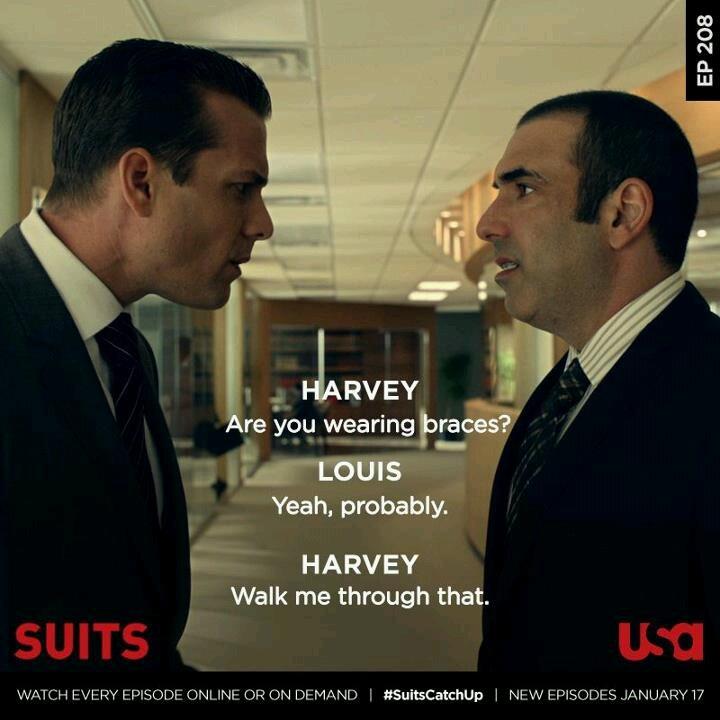 119 best images about SUITS on Pinterest | Suits quotes harvey ...