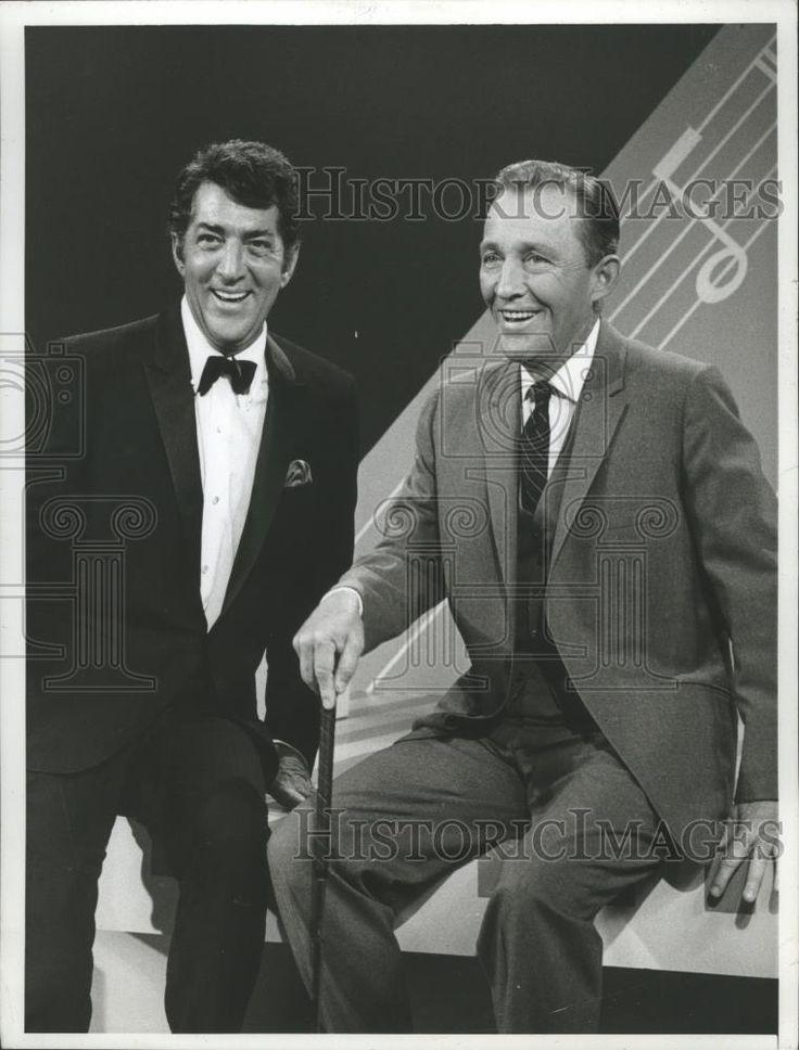 1967 Press Photo Dean Martin and Bing Crosby in The Dean Martin Show - mjx23472