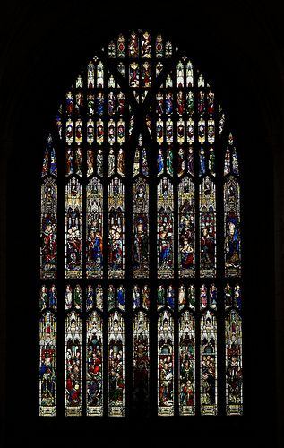 Beverley Minster west window