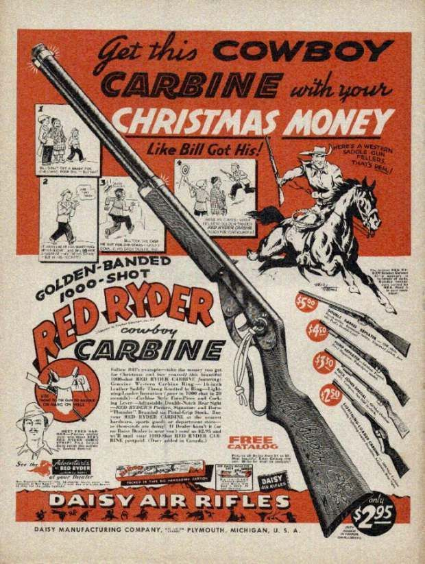 Red Rider Carbine You Ll Shoot Your Eye Out Kid Oldtimeradiochristmas A Christmas Story Christmas Story Movie Christmas Story Party Ideas