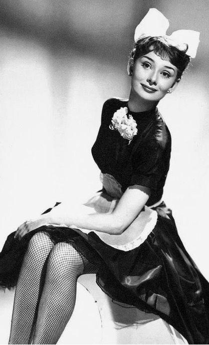 Audrey Hepburn-Laughter in Paradise-1951
