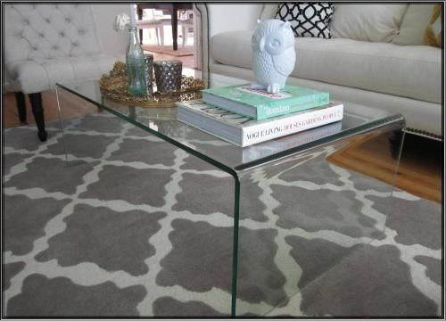 acrylic coffee table-$279 CB2