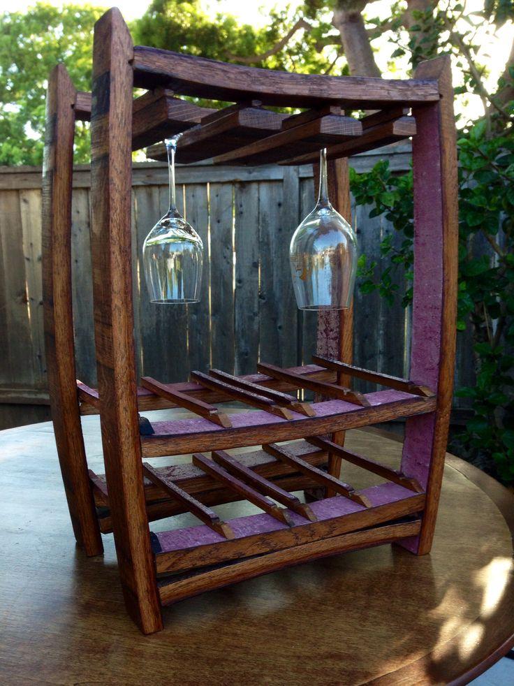 ... Wine/Whiskey Barrels¤Kegs on Pinterest  Wine barrel table, Chairs