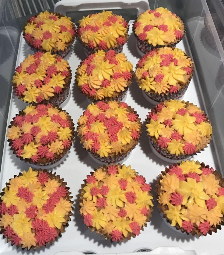 Spring Bloom Cupcakes