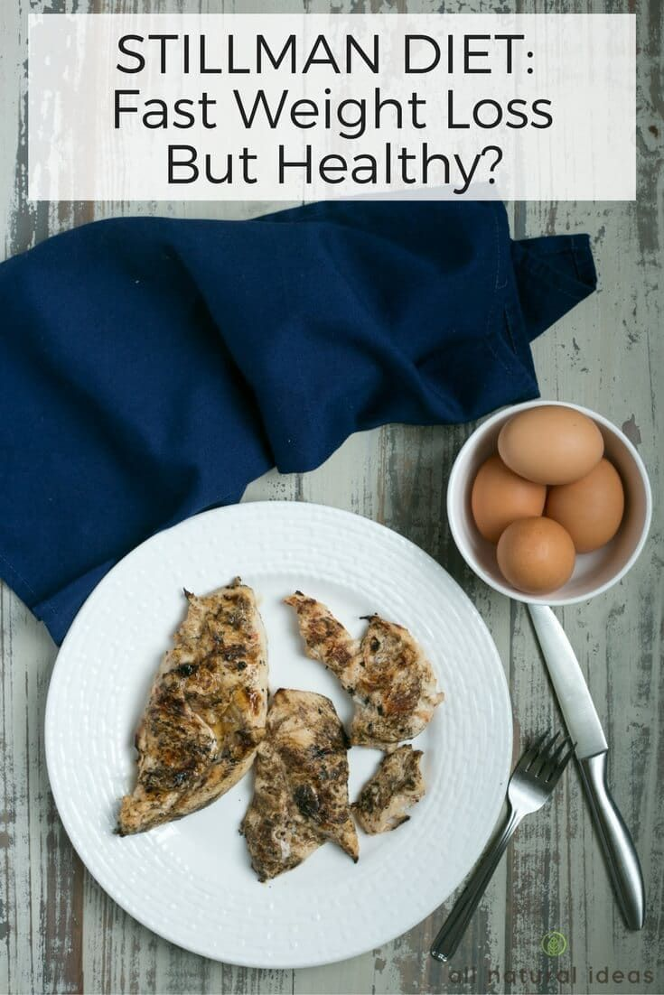 Stillman Diet results are often shocking. Tales of rapid weight loss in a very short amount of time are common. But is the diet healthy? | allnaturalideas.com via @allnaturalideas