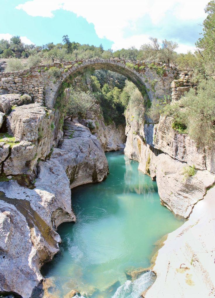KÖPRÜLÜ KANYON (BEŞKONAK) / Bridge Canyon,Manavgat,Antalya-TURKEY