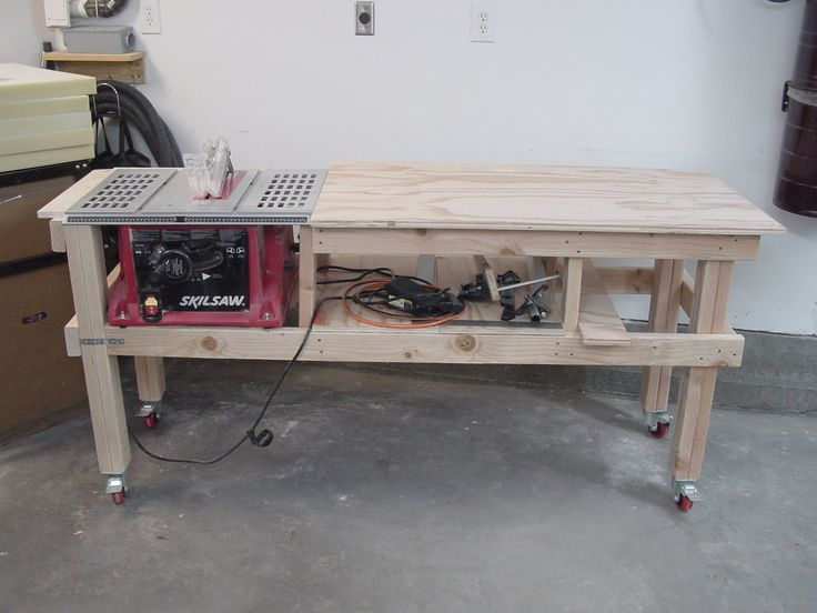 Saw And Router Table Extension Project The Woodworker S