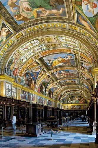 El Escorial Monastery Library