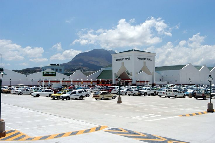 Somerset Mall - Strand  Somerset West regional shopping mall. It is third biggest Mall in the Western Cape and provides a choice of 197 stores, including anchor tenants such as Woolworths, Edgars, Dion Wired, Game, Pick n Pay and Dischem. It also offers a wide variety of food, fashion, beauty and specialist stores. With almost 700 undercover parking bays, offers 3800 parking bays and 24-hour security.