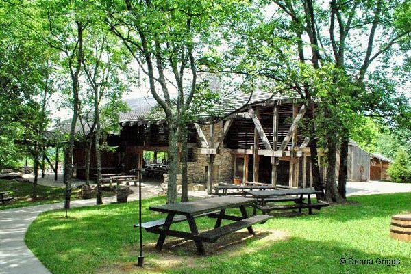 Jack Daniel's Distillery Tour: Jack Daniel's Barbecue Hill -Lynchburg, TN