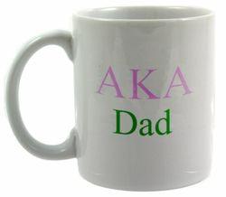 Alpha Kappa Alpha Dad Coffee Cup SALE $14.99. - Greek Clothing and Merchandise - Greek Gear®