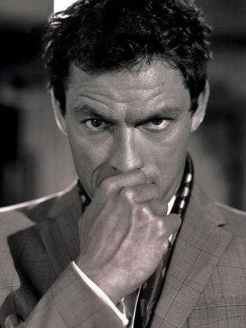 Dominic West. Very impressive in The Wire. Especially for an English public school boy.