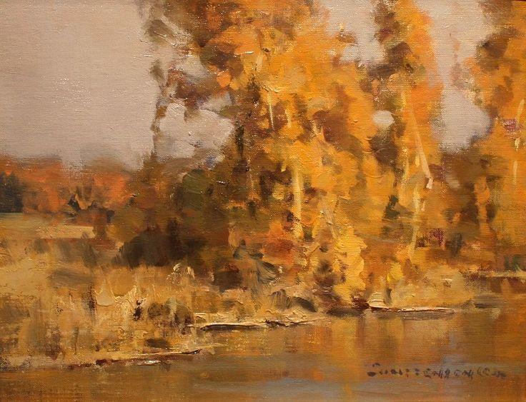 scott christensen paintings   Artist: Scott L. Christensen - Title: On Our Pond