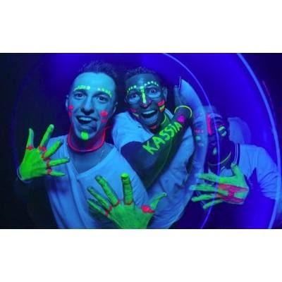 Tinta Líquida Fluorescente 6 Cores Cítricas - Neon Facial - R$ 27,90