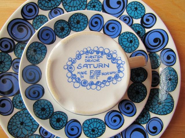 """Figgjo Flint """"Saturn"""" pattern"""