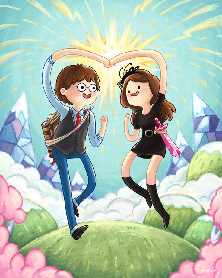 Adventure Time Proposal by Amy Liu.