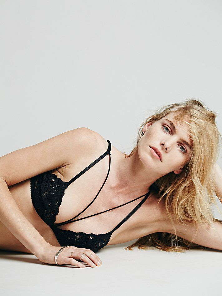 Intimately Front Strap Triangle Bra at Free People Clothing Boutique