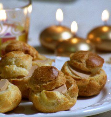 Gougères farcies au foie gras – Noël - Ôdélices : Recettes de cuisine faciles et originales !