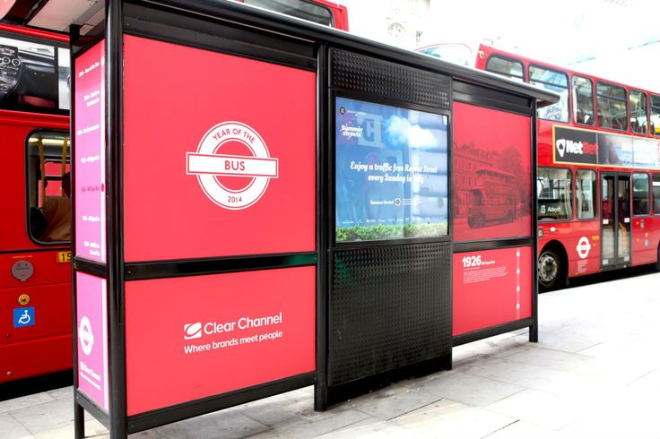 Keep your eyes peeled for the other bus stops dotted along #RegentStreet which celebrate the Year of the Bus.