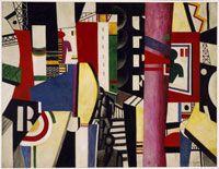 La ville - Léger - Philadelphia muséum - 20è - Cubisme
