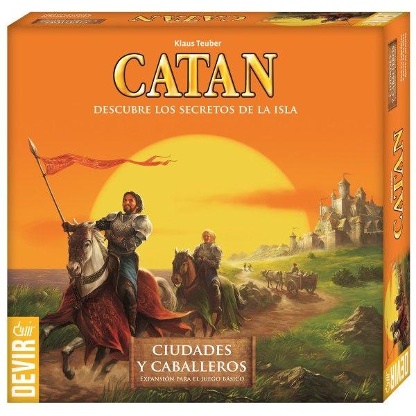 Los Colonos de Catan - Ciudades y caballeros de Catan