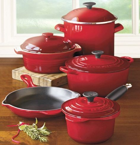Le Creuset I have become slightly addicted to you on my registry....