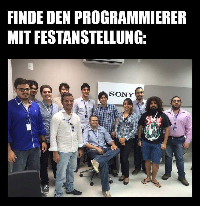 Suchbild: Programmierer