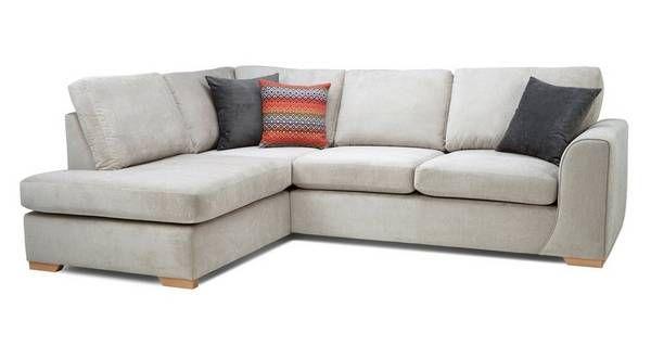 Marquee Right Hand Facing Arm Open End Corner Sofa Grey Corner Sofa Sofa