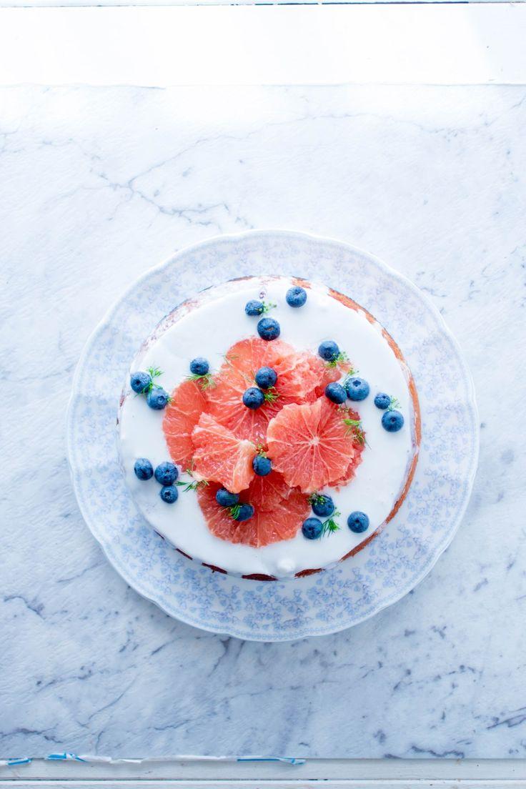 TARTA DE ALMENDRA Y CITRICOS (Gluten-free citrus almond cake) #TartasSinGluten