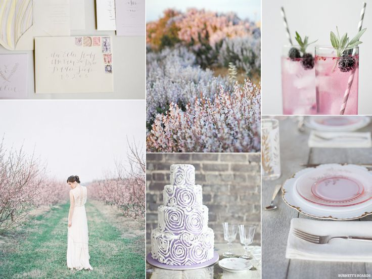 Grey Skies And Lavender Wedding Color SchemesColour