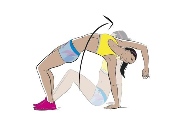 The best exercises and workout to get strong arms and upper body strength like hepathlete Katarina Johnson-Thompson.