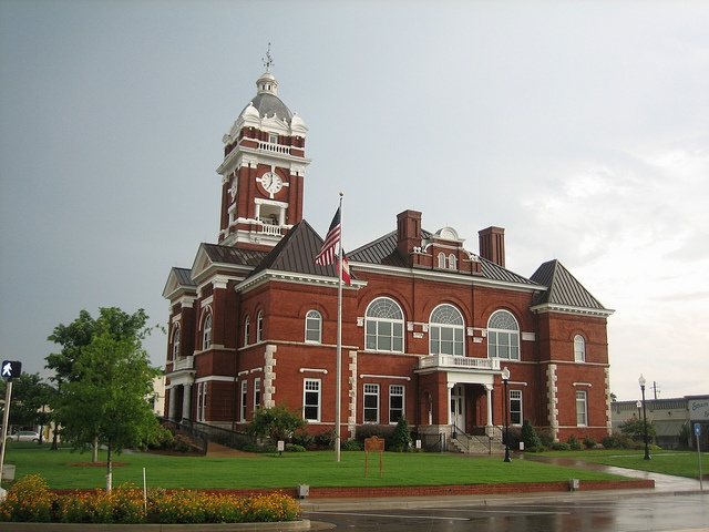 Monroe County Courthouse In Forsyth, Georgia By ParkHaven13, Via Flickr  (Photo Credit: