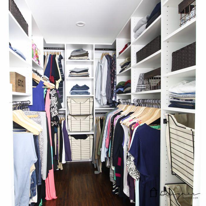 DIY Closet System REVEAL ~ Iu0027m In Love!