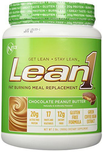 Nutrition 53 Lean 1 Dietary Supplement, Chocolate Peanut Butter, 1.98 Pound //Price: $27.41 & FREE Shipping //     #hashtag2