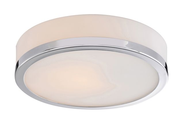 56012 - Two Lamp Flush Mount Ceiling Fixture Round