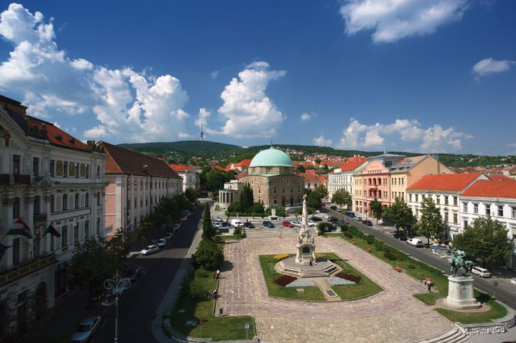 Pecs, Hungary: Home of Mikolay and Christina Scherer Deutsch. Birthplace of Mary Deutsch, 6 June 1880.