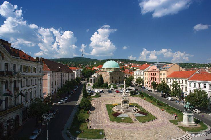 Pecs in Hongarije.