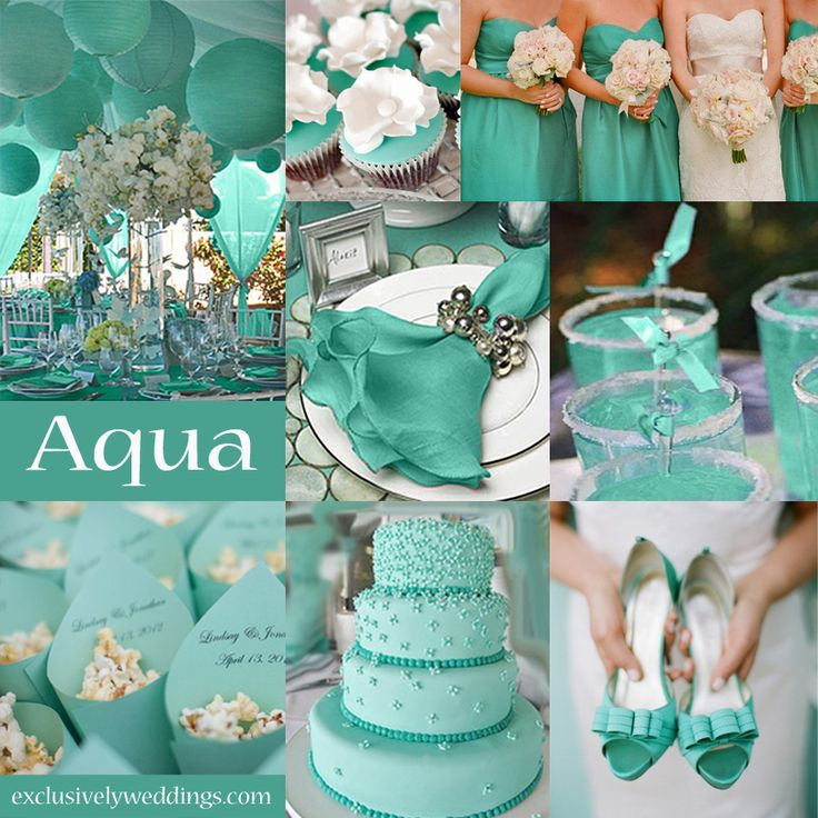 25 Best Ideas About Turquoise Color Schemes On Pinterest: 25+ Best Ideas About Aqua Wedding Themes On Pinterest