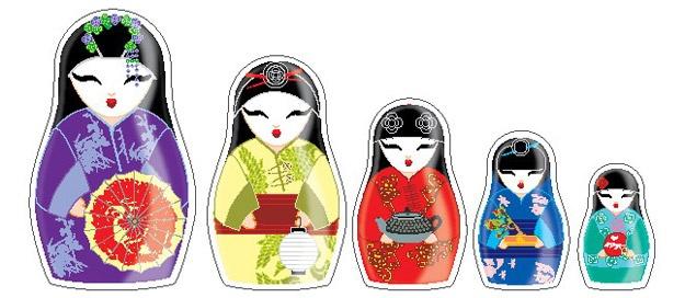 geishas imantadas