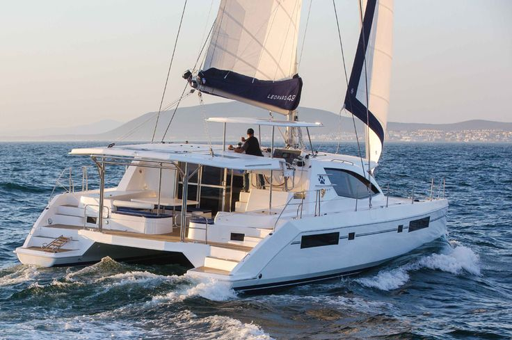 Comfort is where these 5 sailing catamarans shine.
