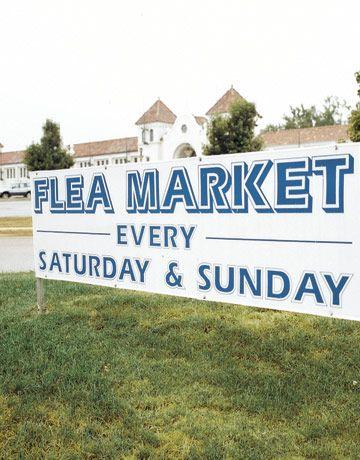 Raleigh's Fairgrounds Flea Market:   When: Weekends, 9a to 6p except October  Where: North Carolina State Fairgrounds  1025 Blue Ridge Road  URL: http://raleighfleamarket.net/