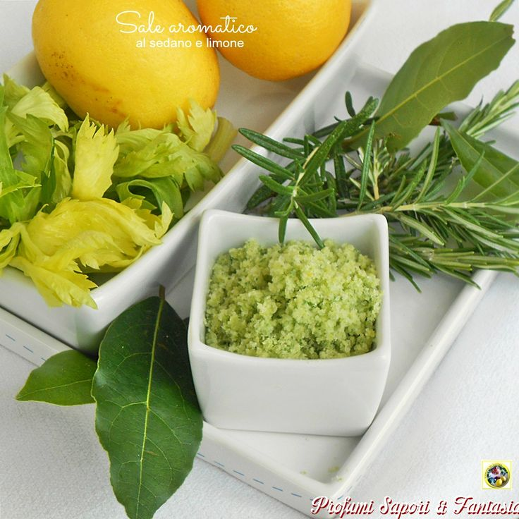 Il sale aromatico al sedano e limone è un condimento adatto a tutte le vostre preparazioni culinarie. Dalla carne bianca al pesce e sulle verdure è speciale