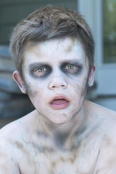 Halloween Zombie Makeup for Kids: These looks will add some scare to any costume.