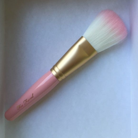 Too faced brush. Brand new Brand new. Will send with brush guard Makeup Brushes & Tools
