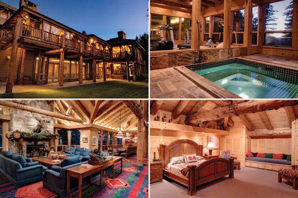 Park City, Utah  Price: $49,000,000 million   Bedrooms / Baths: 12 / 16   Square Footage: 20,000   Acreage: 60.22Swimming Pools, Dreams Home, Expo Beams, Dreams Vacations, Dreams House, Luxury Logs, Cabin Heavens, Cabin Dreams, Logs Cabin