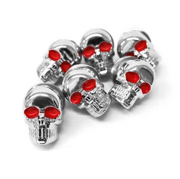 Chrome Skeleton Skull Bolts For Honda Valkyrie Rune 1500 1800 #Affiliate